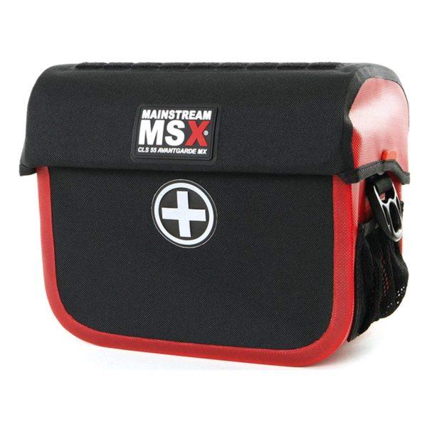 Bolsa de guidão CLS 55 MX, vermelha-744