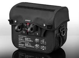 Bolsa de guidão CLS 55 MX, preta-0