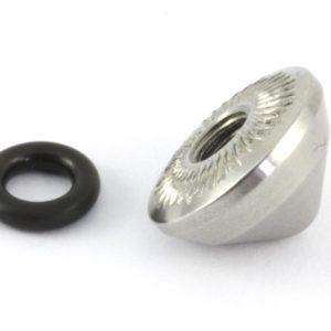 Conj. tampa + anel borracha p/ eixos Pitlock-0
