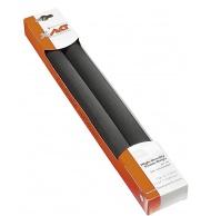 Proteção espuma p/ guidão, cor preta (par)-0