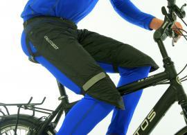 Proteção impermeável p/ pernas (tam. M) preta-0