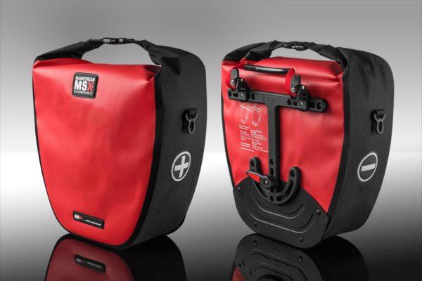 Alforje SLR 55 CX, vermelho-0