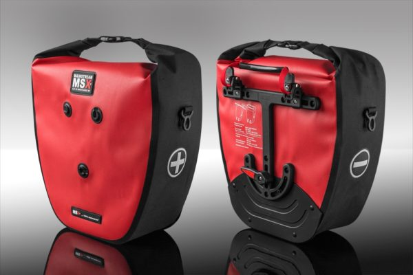 Alforje SLR 55 MX, vermelho. -0