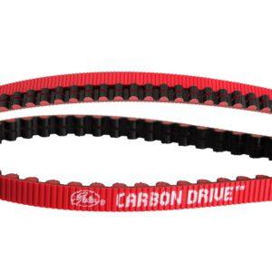Correia Gates Carbon Drive 113 dentes, vermelha e preta-0